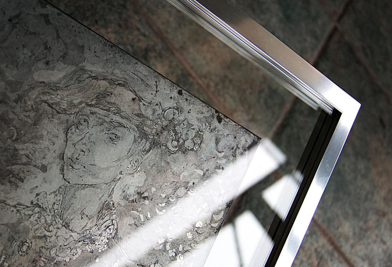 MECH art oprawa dwa szkła Warszawa